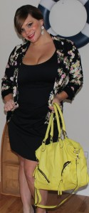 Candies Blazer - Kohls Body Shaper Dress - Victoria's Secret Earrings - Macy's