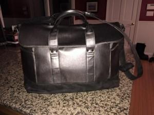 My HUGE gym bag.